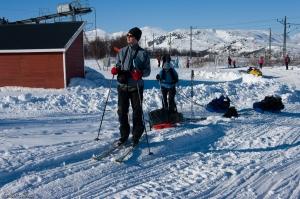 Wyjście z Katterjåk