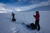 Skandynawia na nartach.