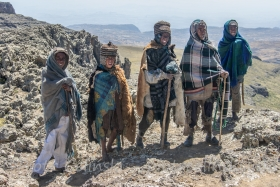 Pasterze na Ras Dashen