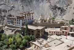 Klasztor w Lamayuru.