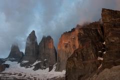 Wieże Torres del Paine
