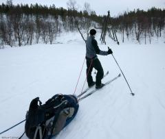 Trekking na nartach