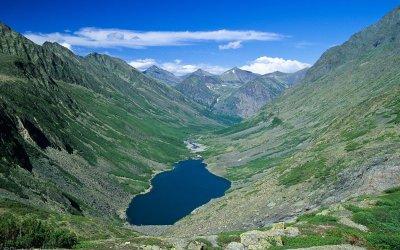 """Góry Bajkalskie w """"Galerii w drodze"""""""