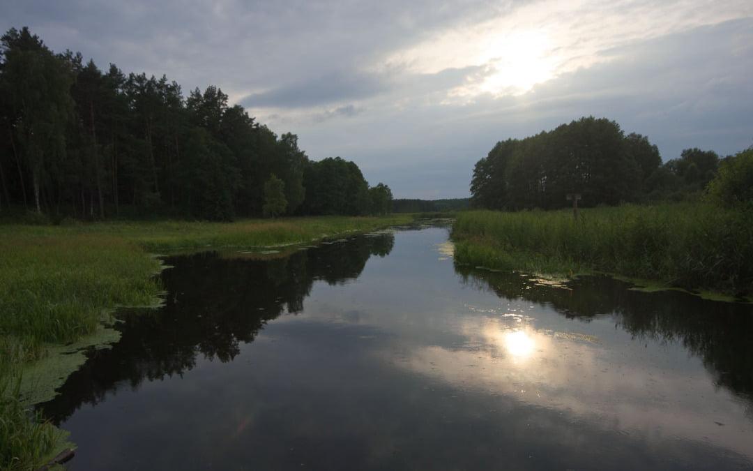 Most na rzece Omulew