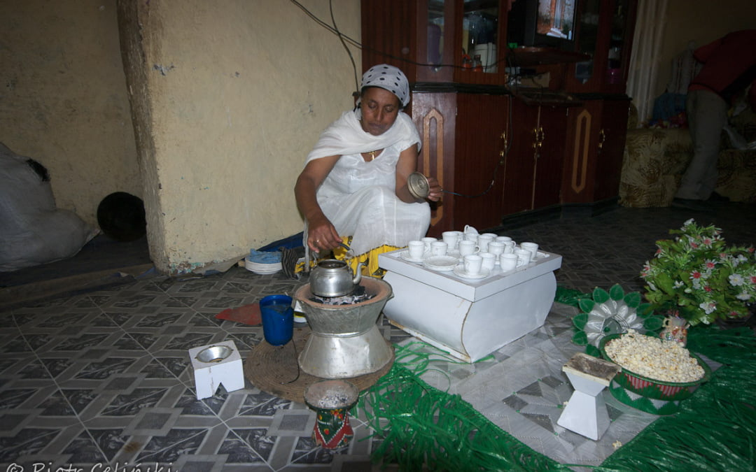 Etiopska ceremonia kawowa